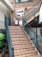 二階へ直接階段