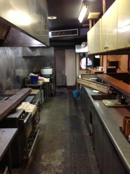 カウンターキッチン内部厨房設備