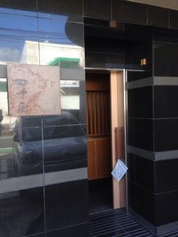 店の入口部分