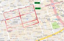 大名2丁目歩行者マップ