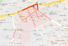 警固2丁目歩行者マップ